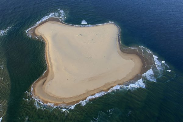 photo aerienne du bassin d'arcachon de stephane scotto