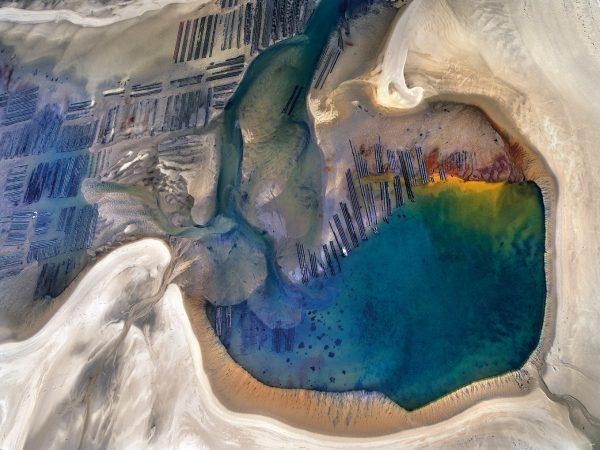 une autre planete arguin bassin d'arcachon scotto vue aerienne