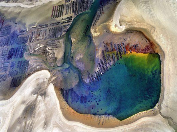 une autre planète photo aérienne du banc d'arguin de Stéphane Scotto