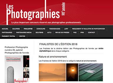 Le photographe du Bassin d'Arcachon Stéphane Scotto en finale du concours des Photographies de l'Année avec sa photo Ocean of Love