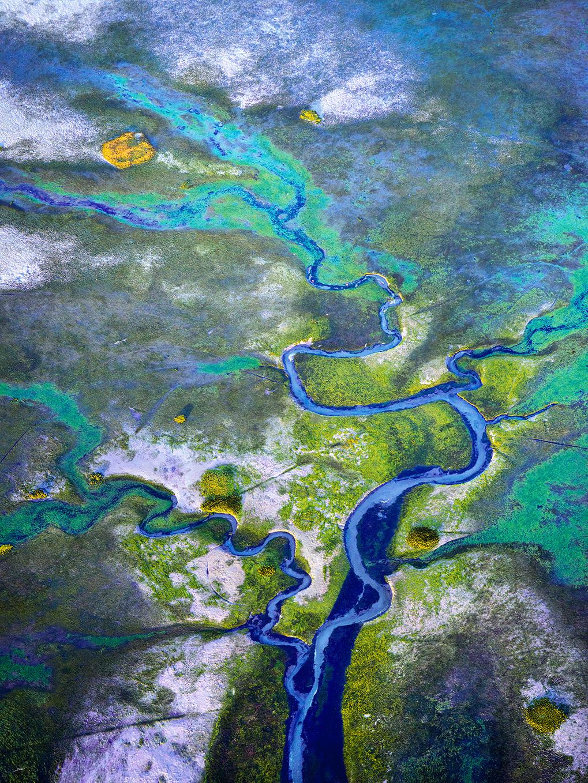 ancre de chine photo aerienne bassin d'arcachon scotto