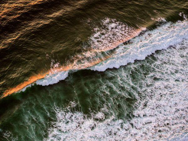 Vagues plage du Cap Ferret