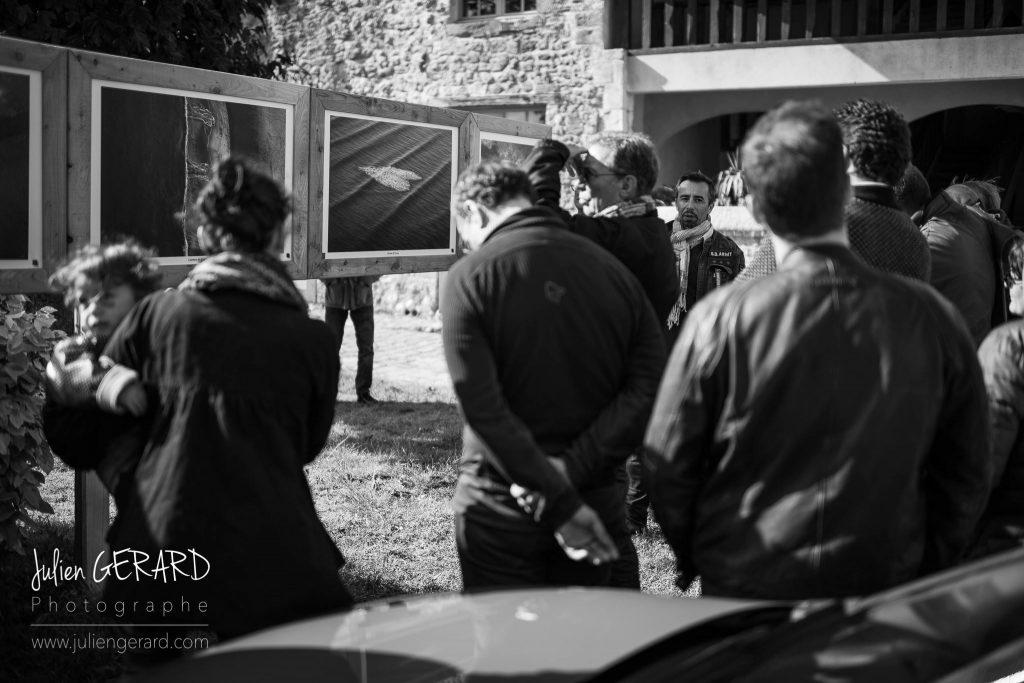 Le photographe Stéphane Scotto exposait au Festival de Bellême