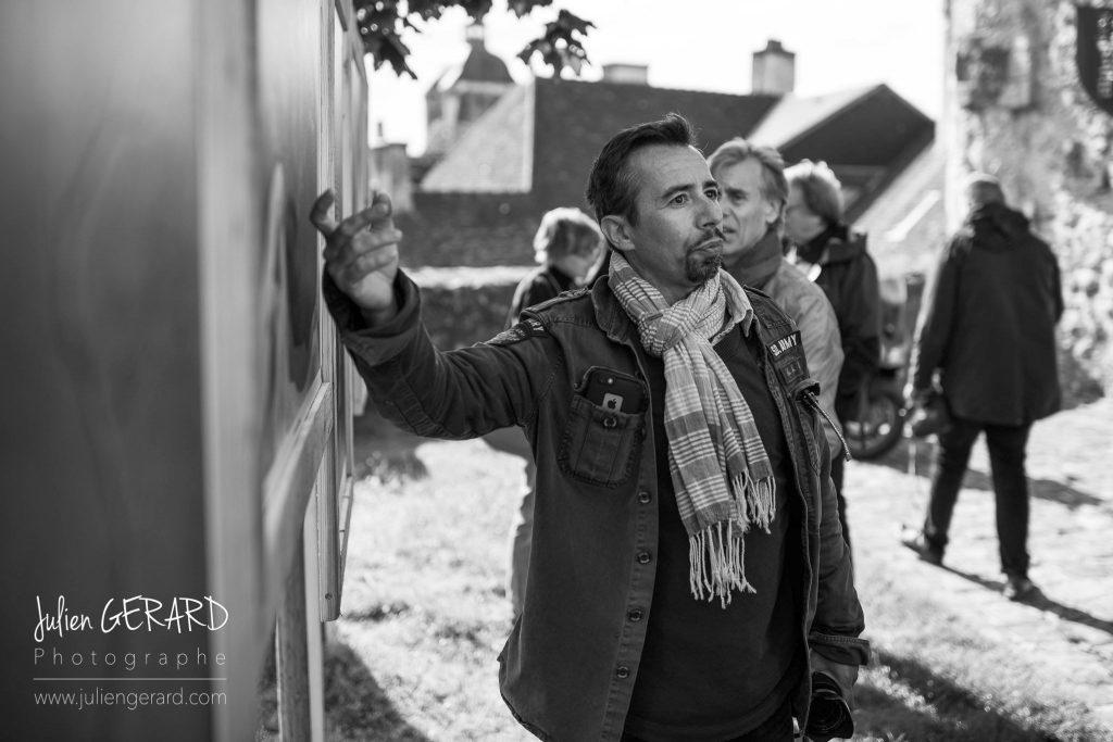 Le photographe Stéphane Scotto présente son exposition au Festival de Bellême