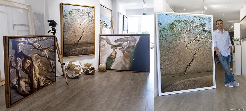 Le photographe du Bassin d'Arcachon Stéphane Scotto propose ses photos du Bassin dans sa galerie à Gujan-Mestras