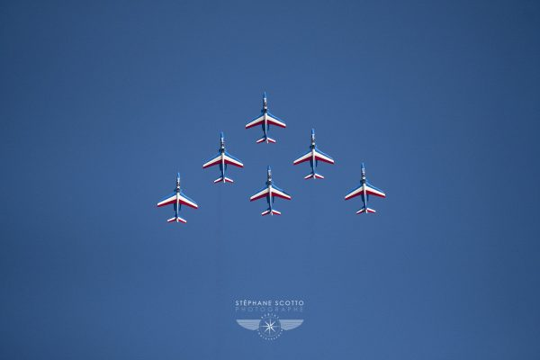 Patrouille de France par le photographe Stéphane Scotto