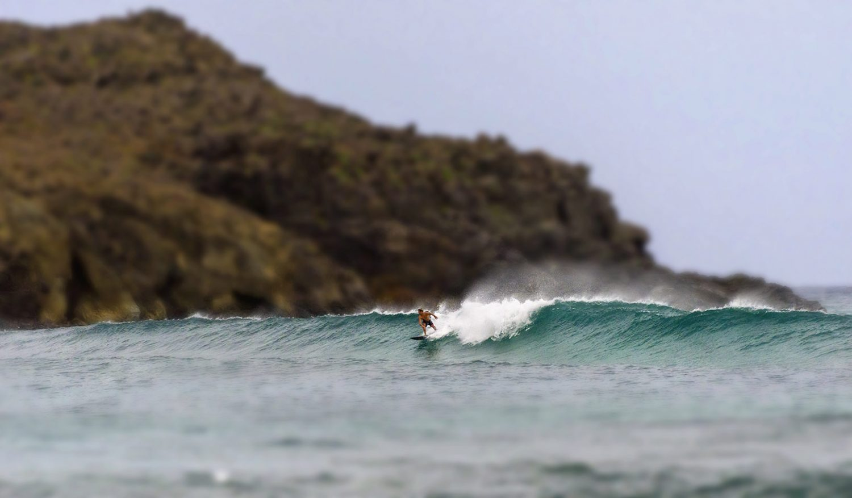 Surf à St Barth