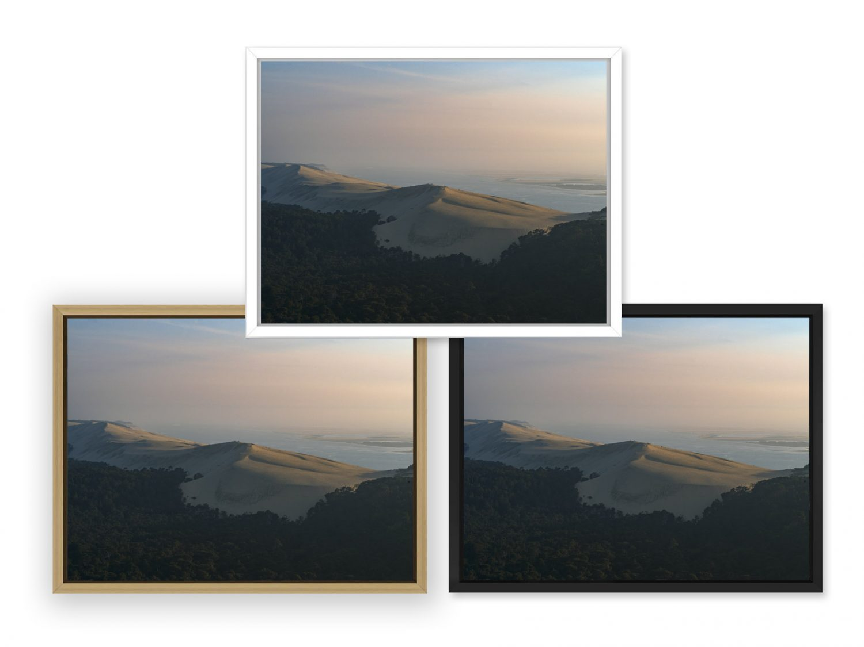 Photo du Bassin d'Arcachon par le photographe Stéphane Scotto décoration tableau photo