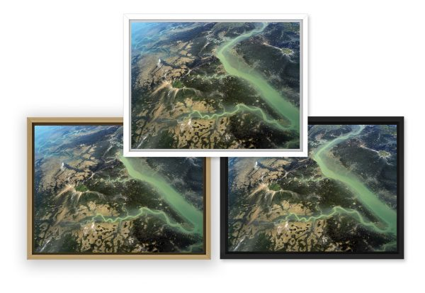 photo du Bassin d'Arcachon par Stéphane Scotto déco intérieure tableau photo